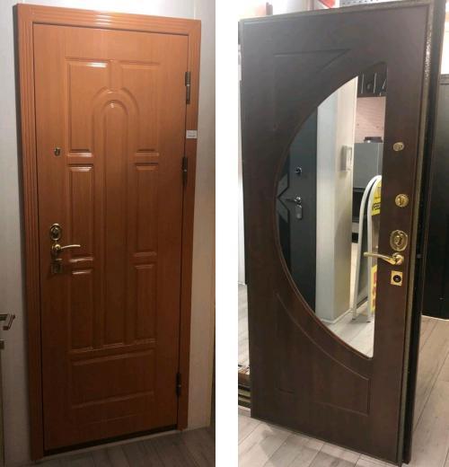входные двери (стальные двери, металлические двери) DOORS007: дверь Распродажа Стальной портье ДБ21 CISA