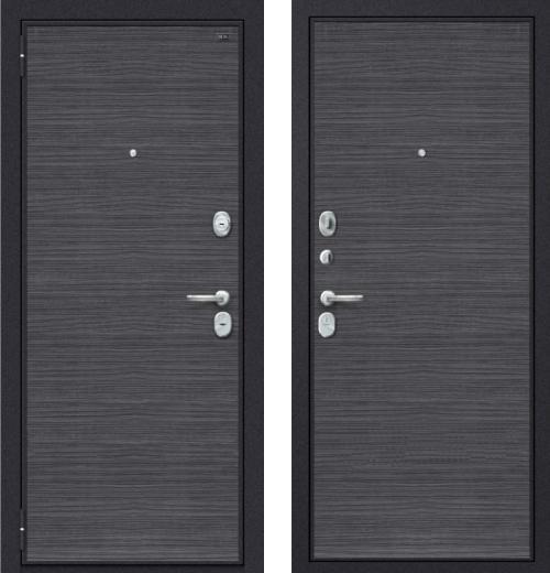 входные двери (стальные двери, металлические двери) DOORS007: дверь Распродажа Groff Т3-300 Black Wood 88 L