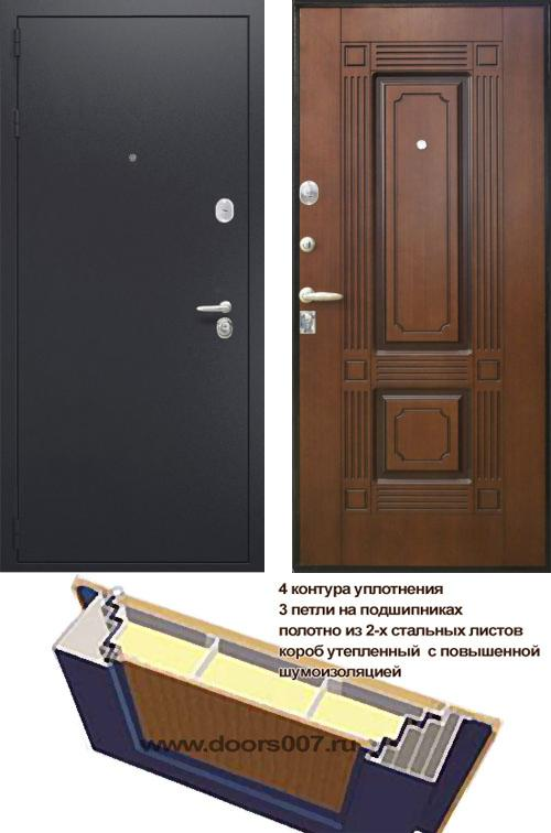 входные двери (стальные двери, металлические двери) DOORS007: дверь Распродажа Интекрон Вавилон