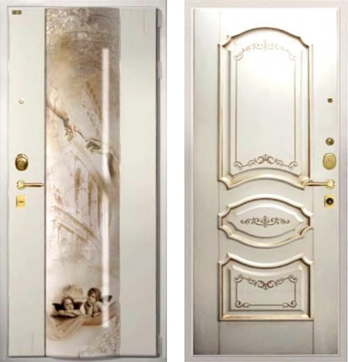 входные двери (стальные двери, металлические двери) DOORS007: дверь Распродажа Гардиан Возрождение