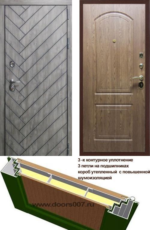 входные двери (стальные двери, металлические двери) DOORS007: дверь Сенатор Канада 3К К-1