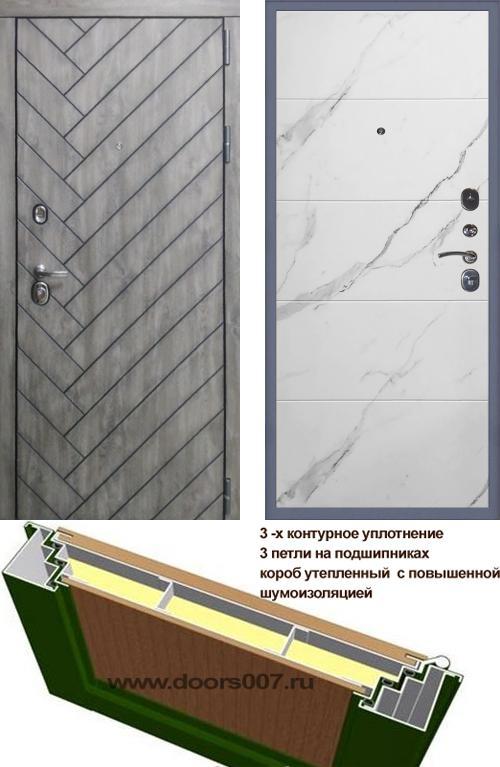 входные двери (стальные двери, металлические двери) DOORS007: дверь Сенатор Канада 3К Тривия, Цвет