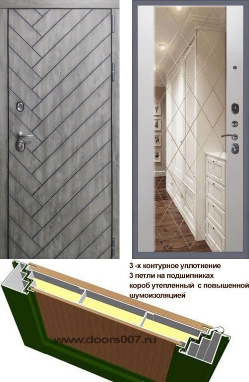 входные двери (стальные двери, металлические двери) DOORS007: дверь Сенатор Канада 3К Ампир с гравировкой