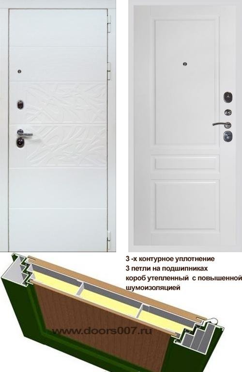 входные двери (стальные двери, металлические двери) DOORS007: дверь Сенатор Дэко