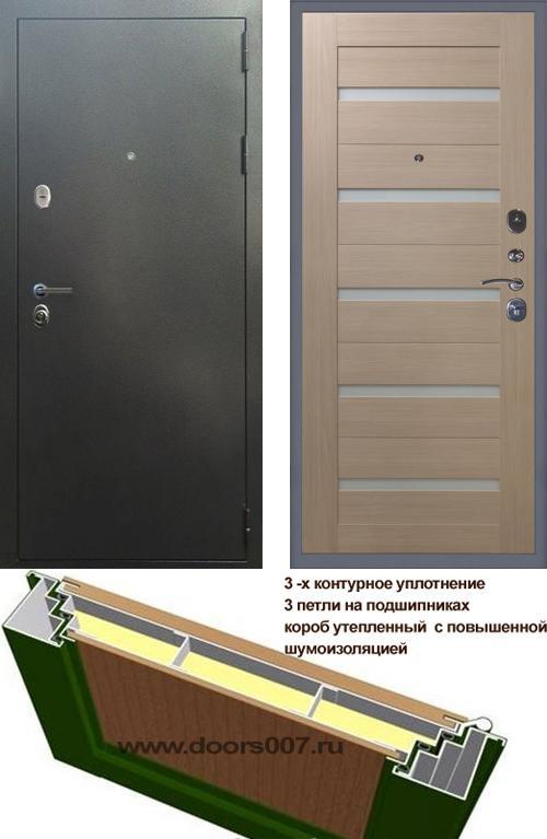 входные двери (стальные двери, металлические двери) DOORS007: дверь Сенатор Эталон 3К СБ-1, Цвет
