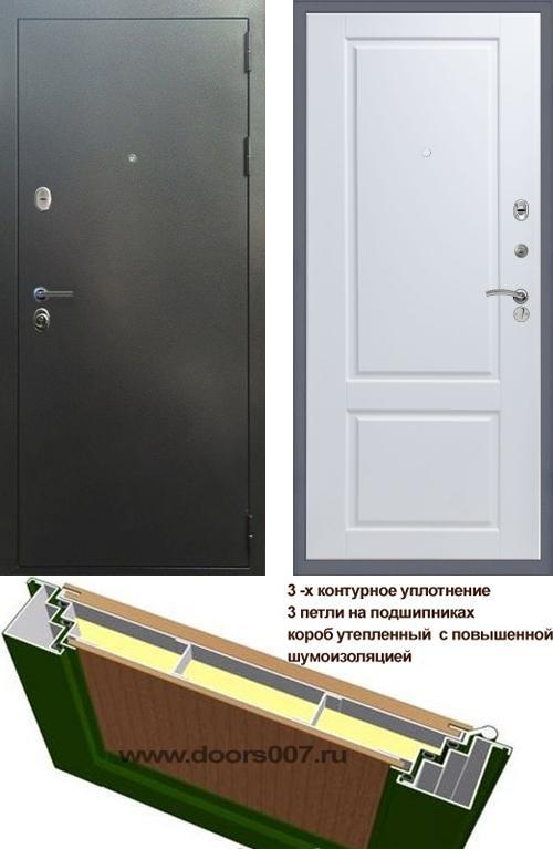 входные двери (стальные двери, металлические двери) DOORS007: дверь Сенатор Эталон 3К ДОРРЕН, Цвет
