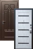 дверь Эврика СБ-14 Черное стекло
