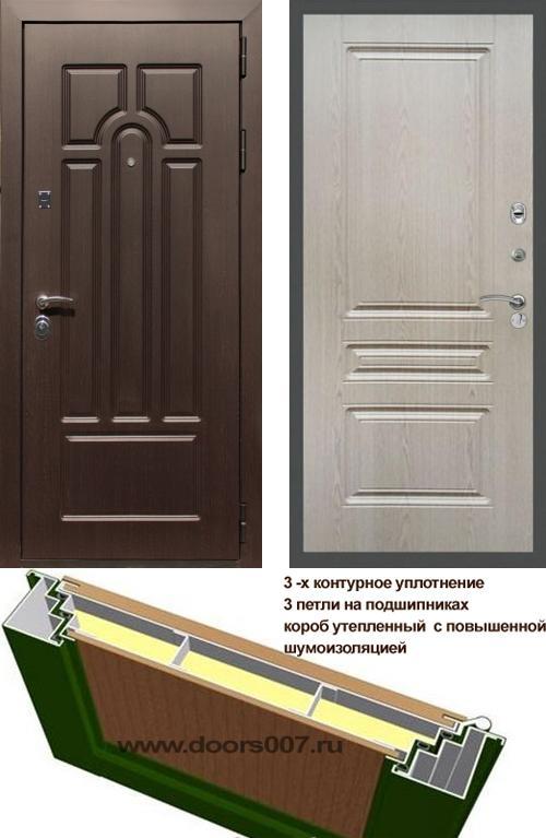 входные двери (стальные двери, металлические двери) DOORS007: дверь Сенатор Эврика ФЛ-243
