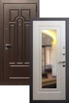 Входная дверь Эврика с зеркалом