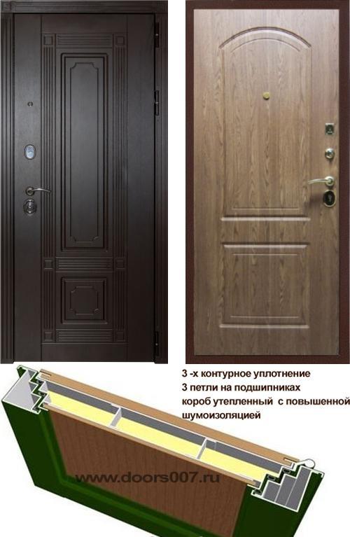 входные двери (стальные двери, металлические двери) DOORS007: дверь Сенатор Италия