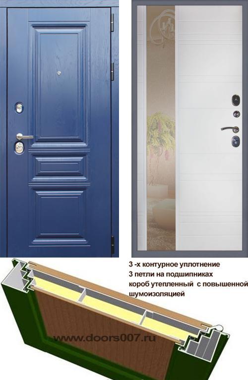 входные двери (стальные двери, металлические двери) DOORS007: дверь Сенатор М600