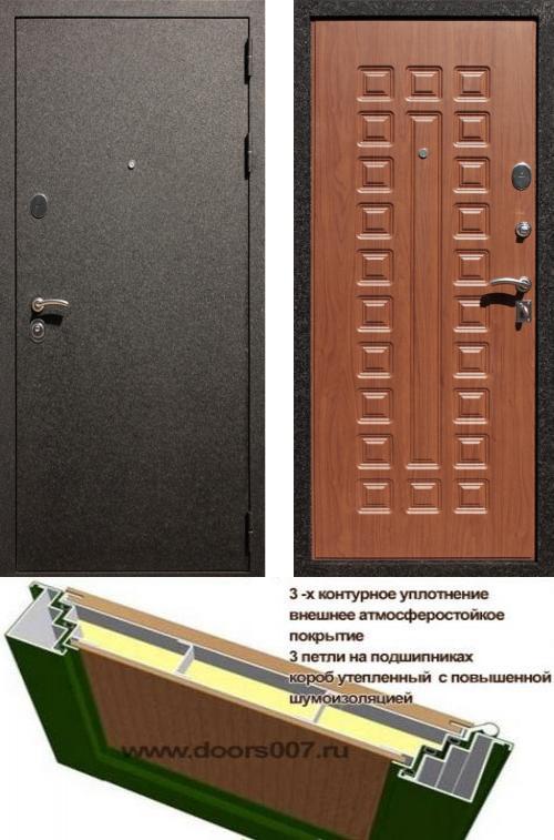 входные двери (стальные двери, металлические двери) DOORS007: дверь Сенатор Практик 3К Крокодил, Цвет