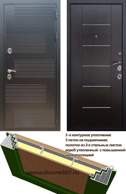 входные двери (стальные двери, металлические двери) DOORS007: дверь Сенатор Премиум ФЛ-185 B-03 Молдинг, Цвет