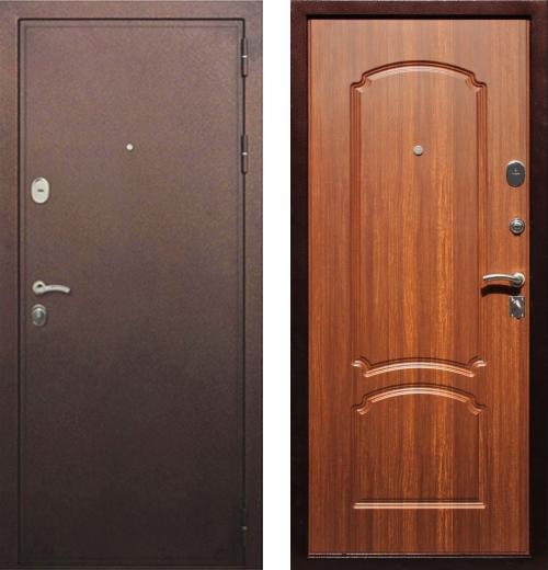 входные двери (стальные двери, металлические двери) DOORS007: дверь Сенатор Премиум 61