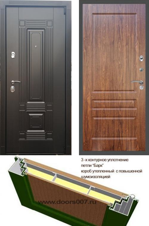 входные двери (стальные двери, металлические двери) DOORS007: дверь Сенатор Мадрид ФЛ-116, Цвет