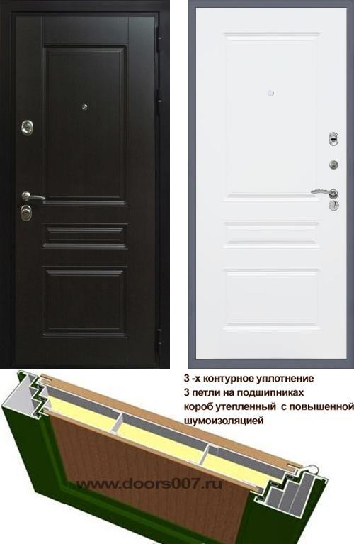 входные двери (стальные двери, металлические двери) DOORS007: дверь Сенатор Премиум H ФЛ-243