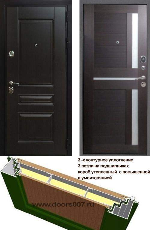 входные двери (стальные двери, металлические двери) DOORS007: дверь Сенатор Премиум H СБ-18, Цвет