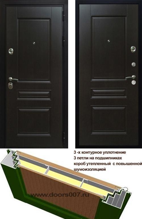 входные двери (стальные двери, металлические двери) DOORS007: дверь Сенатор Премиум H, Цвет