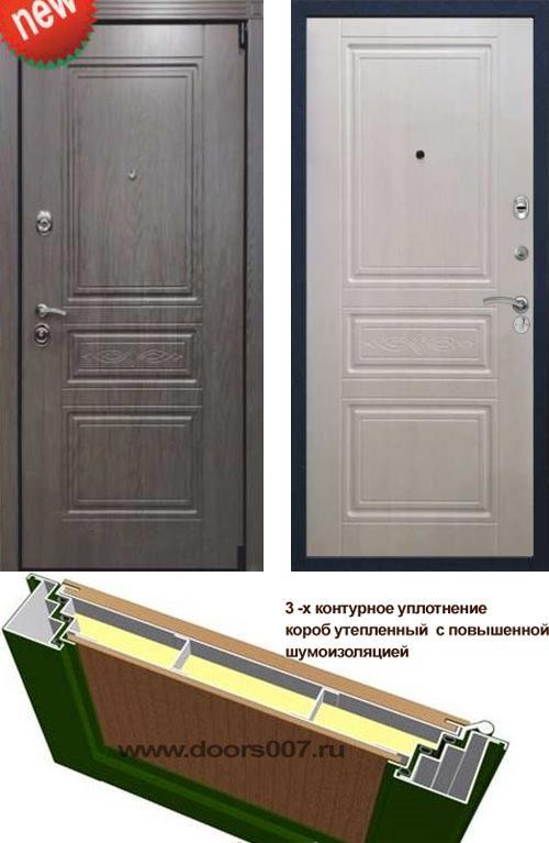 входные двери (стальные двери, металлические двери) DOORS007: дверь Сенатор Премиум S