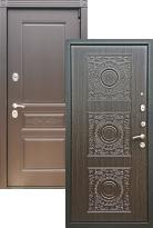 Стальная дверь Премиум S Шоколад Д-18