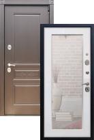 Стальная дверь Премиум S Шоколад Пастораль