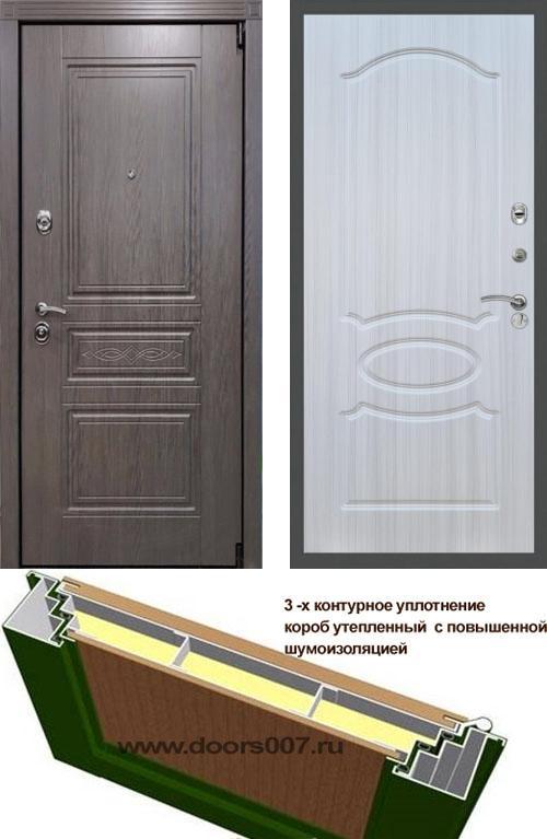 входные двери (стальные двери, металлические двери) DOORS007: дверь Сенатор Премиум S Лиственница ФЛ-128, Цвет