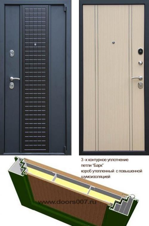 входные двери (стальные двери, металлические двери) DOORS007: дверь Сенатор Модерн
