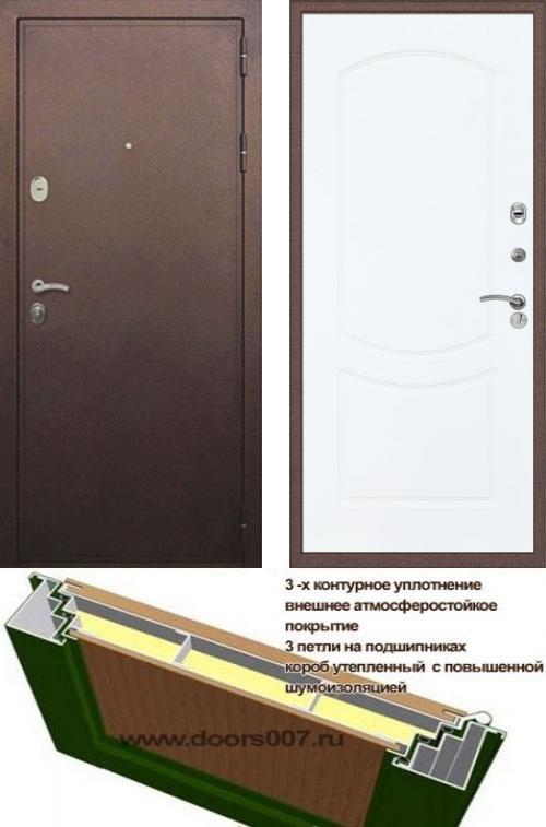 входные двери (стальные двери, металлические двери) DOORS007: дверь Сенатор Практик 3К ФЛ-123, Цвет