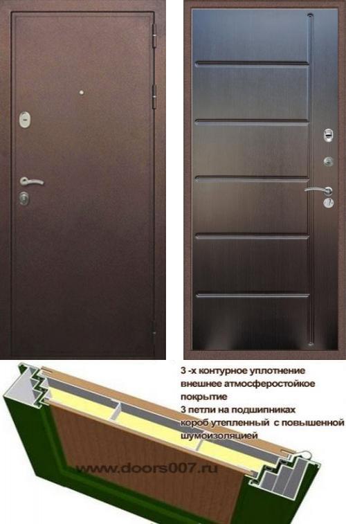 входные двери (стальные двери, металлические двери) DOORS007: дверь Сенатор Практик 3К ФЛ-102, Цвет