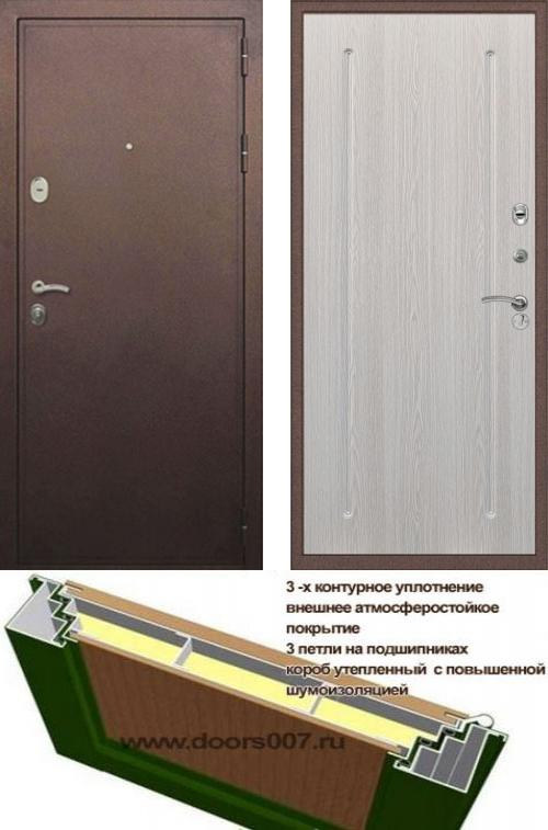 входные двери (стальные двери, металлические двери) DOORS007: дверь Сенатор Практик 3К ФЛ-68, Цвет