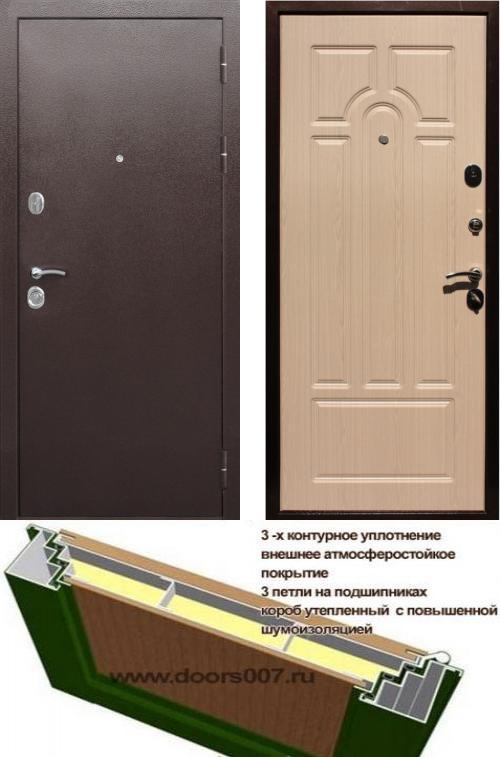 входные двери (стальные двери, металлические двери) DOORS007: дверь Сенатор Практик 3К, Цвет