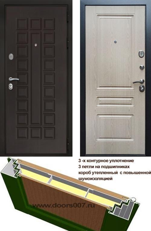 входные двери (стальные двери, металлические двери) DOORS007: дверь Сенатор Престиж 3К ФЛ-243