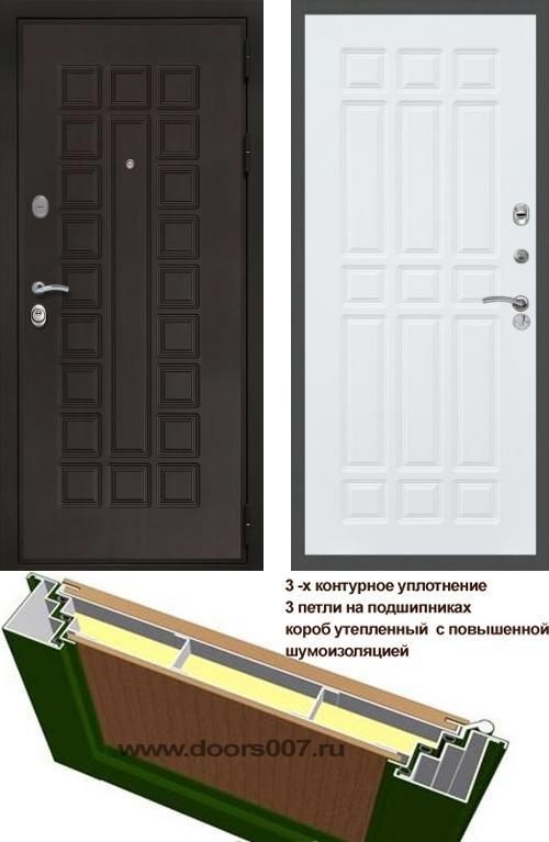 входные двери (стальные двери, металлические двери) DOORS007: дверь Сенатор Престиж 3К ФЛ-33, Цвет