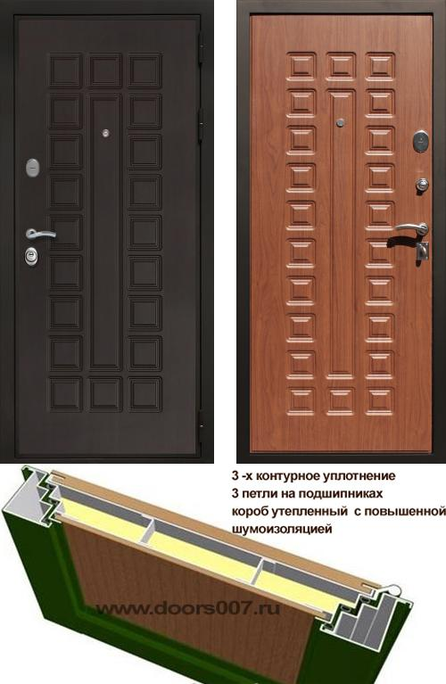 входные двери (стальные двери, металлические двери) DOORS007: дверь Сенатор Престиж 3К, Цвет