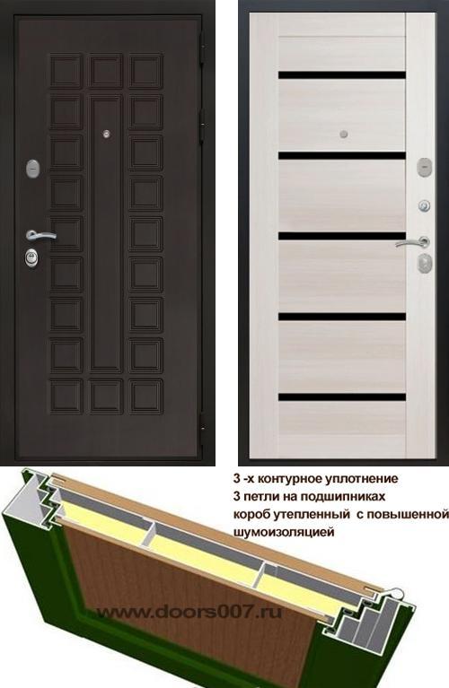 входные двери (стальные двери, металлические двери) DOORS007: дверь Сенатор Престиж 3К СБ-14