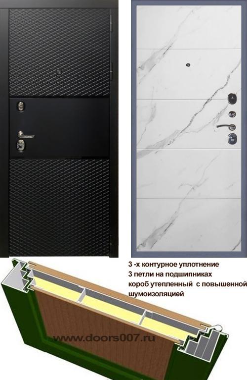 входные двери (стальные двери, металлические двери) DOORS007: дверь Сенатор Тефлон 3К Тривия, Цвет