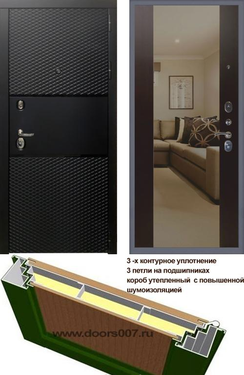 входные двери (стальные двери, металлические двери) DOORS007: дверь Сенатор Тефлон 3К Макси, Цвет