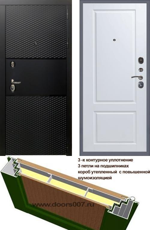 входные двери (стальные двери, металлические двери) DOORS007: дверь Сенатор Тефлон 3К Доррен, Цвет