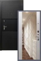 Стальная дверь Тефлон 3К Ампир с гравировкой