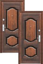 дверь Эконом К550 (66мм, 2 замка) (металлическая дверь Эконом К550 (66мм, 2 замка), железная дверь)