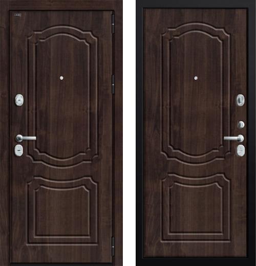 входные двери (стальные двери, металлические двери) DOORS007: дверь Groff P3-301 П-28 Темная Вишня