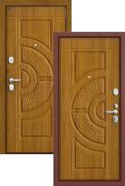 Стальная дверь Groff P3-302 П-4 Золотой Дуб (входная металлическая дверь)
