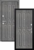 дверь Groff P3-303 П-27 Серый Дуб (металлическая дверь Groff P3-303 П-27 Серый Дуб, железная дверь)