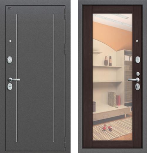 входные двери (стальные двери, металлические двери) DOORS007: дверь Groff Т2-220 Wenge Veralinga