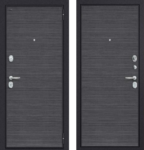 входные двери (стальные двери, металлические двери) DOORS007: дверь Groff Т3-300 Black Wood