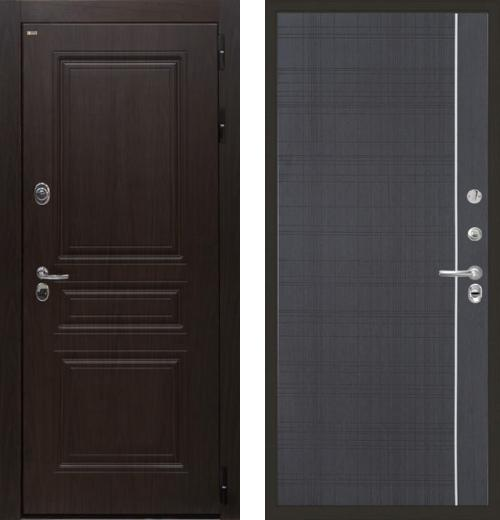 входные двери (стальные двери, металлические двери) DOORS007: дверь Интекрон Брайтон