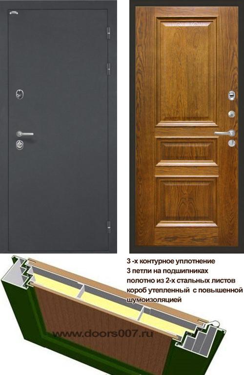 входные двери (стальные двери, металлические двери) DOORS007: дверь Интекрон Греция Валентия 2, шпон