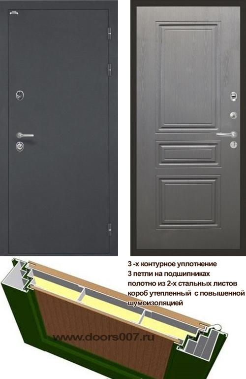 входные двери (стальные двери, металлические двери) DOORS007: дверь Интекрон Греция ФЛ-243-М, Цвет