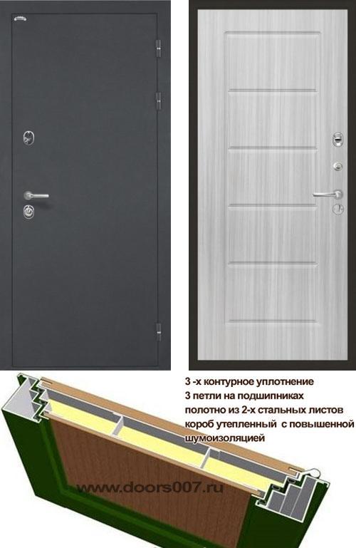 входные двери (стальные двери, металлические двери) DOORS007: дверь Интекрон Греция ФЛ-39