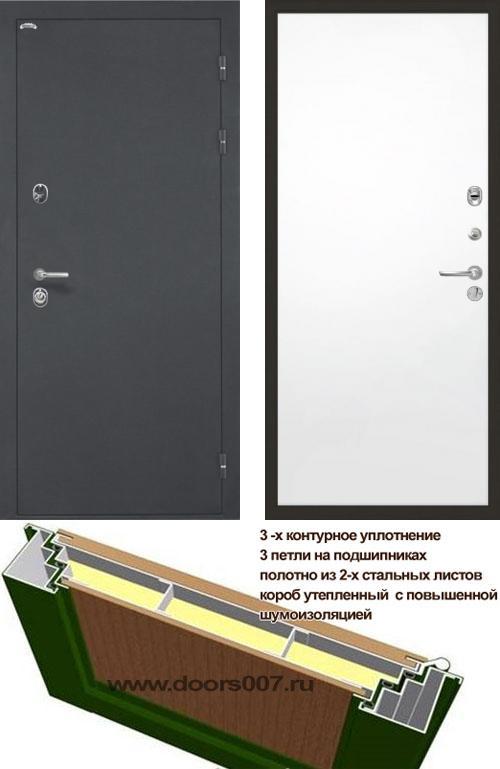 входные двери (стальные двери, металлические двери) DOORS007: дверь Интекрон Греция Гладкая, Цвет
